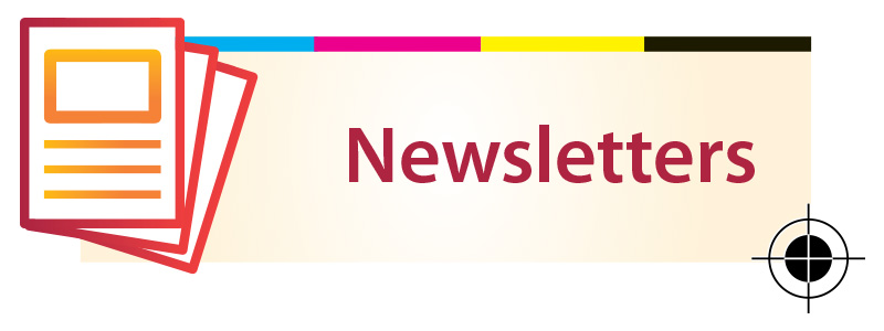 Outburst Design & Print Newsletters